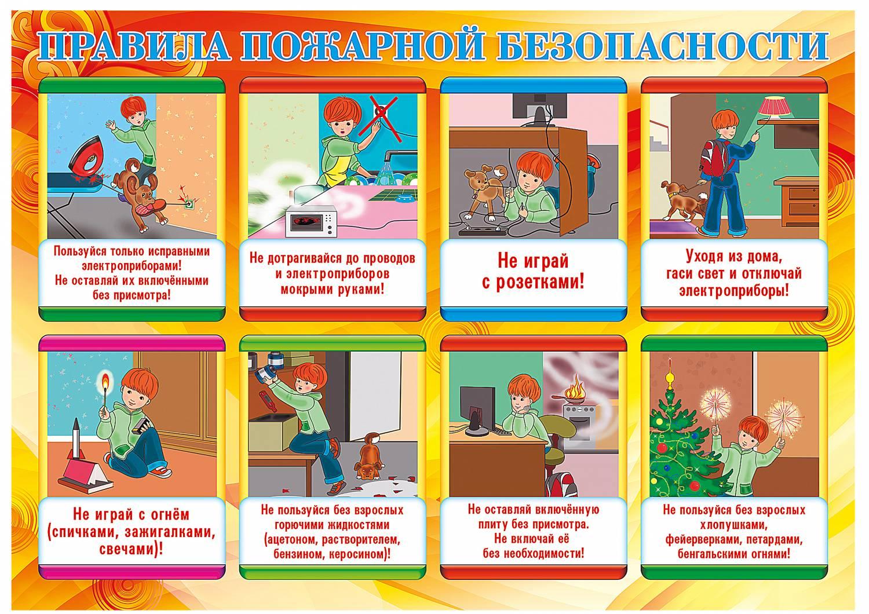 инструкция по пожарной безопасности в